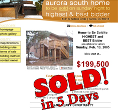 Aurora, CO - SOLD! in 5 Days