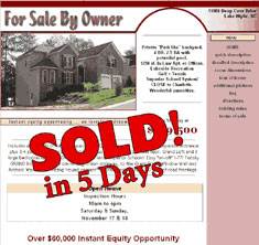 Lake Wylie, NC - SOLD! in 5 Days
